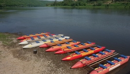 Rent of catamarans and equipment for rafting