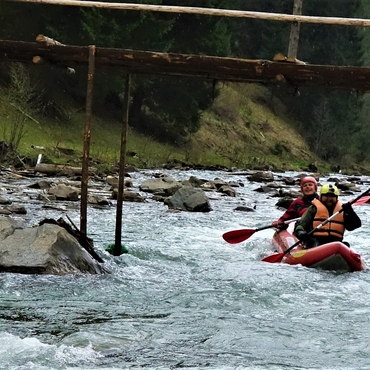 Rafting in the Carpathian: Two rivers (Black Cheremosh, Prut)