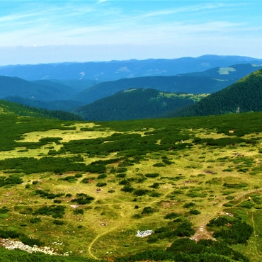 Trekking in the Carpathians: To the land of mountain lakes