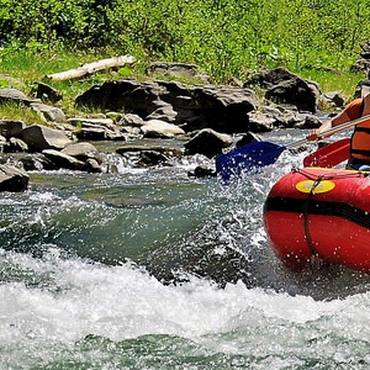 Single rafting trip at Cheremosh