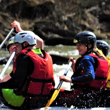 Rafting on the Cheremosh: Carpathian cream