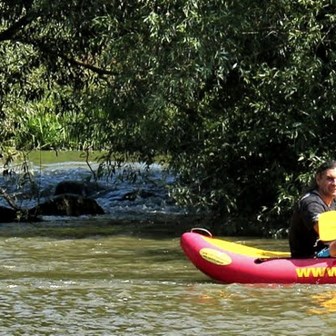Rafting on the Zbruch river, 3 days